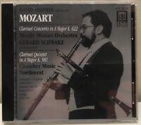 Mozart David Shifrin clarinet Gerard Schwarz CD Delos DE 3020