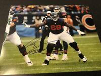James Daniels Chicago Bears Autographed Signed 8X10 Photo W/COA