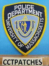 UNIVERSITY OF MASSACHUSETTS POLICE SHOULDER PATCH MA