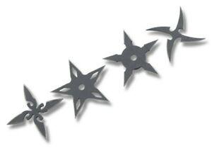 Ninja Training Throwing Stars Practice Dense Foam - Set of 4, New!!!!