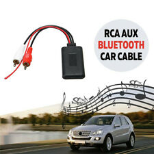 Wireless Bluetooth 2RCA AUX Cable Adapter Connection For Car Truck Music Stereo