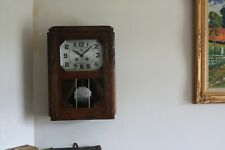 FRENCH WALL CLOCK ODO  chiming working good