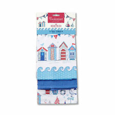 Cooksmart 100% Cotton Tea Towels & Dishcloths