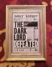 Daily Prophet The Dark Lord Defeated Voldemort Christmas Ornament Harry Potter