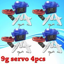 4pcs Rc Servo 9g Mini Micro for Trex Align 450 Rc 6ch Helicopter Airplane Car E