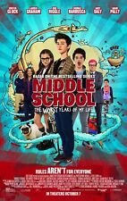 Middle School The Worst Year of My Life -  original DS movie poster - FINAL D/S