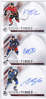 17-18 SP Authentic Cam Atkinson Auto Sign Of The Times Blue Jackets 2017