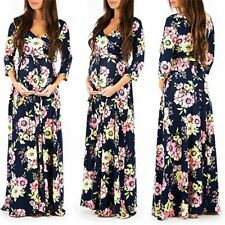 Pregnant Women Long Maxi Dress Maternity Formal Party Evening Photo Dresses