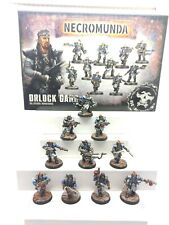 GAMES WORKSHOP NECROMUNDA UNDERHIVE ORLOCK ARMS MASTERS & WRECKERS PRO PAINTED!!