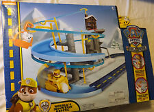 NEW Paw Patrol - Rubble's Mountain Rescue Team Track Set