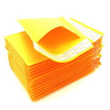 "50x CD Kraft Bubble Padded Envelopes Mailers Shipping Packing Bags 5.9""x 7"""