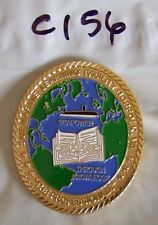 SUBMARINE LEARNING FACILITY NORFOLK, VA SEAPOWER USN COMMAND CHALLENGE COIN C156