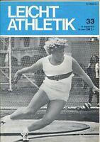 Leichtathletik Nr. 33/1972