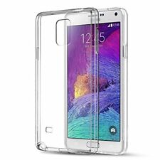 Galaxy Note 4 Crystal Clear Case Premium Tpu Silicon Cover