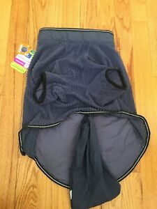 Top Paw Lightweight Packable Reflective Dog Coat Jacket LG -100% to Pet Shelter