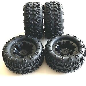 FTX Carnage Brushless Wheels And Tyres -12mm Hex (x4)