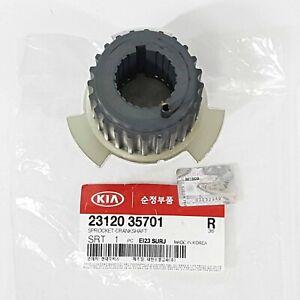 Genuine 2312035701 Crankshaft Sprocket For KIA SEDONA SORENTO 3.5L 2002-2006