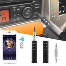 New Handsfree Bluetooth Phone 3.5mm AUX Stereo Audio Music Receiver Adapter Car