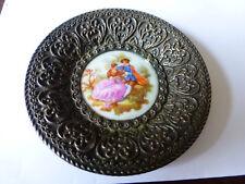 Vide poche ancien en porcelaine de Limoges