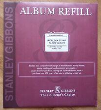 Stanley Gibbons Worldex Stamp Album Leaves - Pack of 20