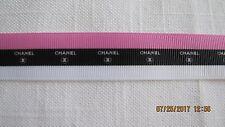Channel Striped Grosgrain Ribbon 7/8 Inch BTY