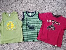 Three GYMBOREE Boys Summer Shirts Sz. 8 - EUC