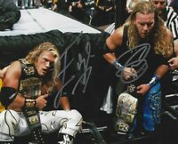 Edge / Christian ( WWF WWE ) Autographed Signed 8x10 Photo REPRINT