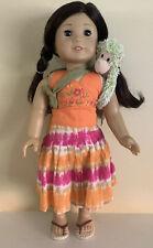 American Gir Doll Jess With Kayak Accessories & Pajamas
