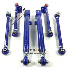FOR 02-07 Subaru Impreza WRX/ STi GDA Rear Lateral control arms suspension BLUE