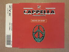 CD # mcd # Cappella # Move On Baby # 1994 # vg+/vg+