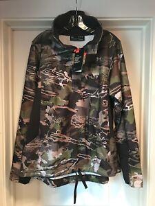 Under Armour Women's 1/2 Zip Forest Camo Fleece Pullover XL 1297415 943 NWT