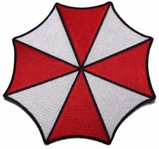 "Resident Evil Large Size Umbrella Corporation 5 1/4"" Wide Logo Patch"