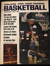 1967 Basketball Yearbook Magazine