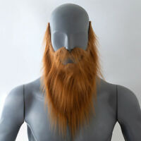 DI- Funny Fake Beard Halloween Party Mustache Cosplay Costume Dressed Props Pret