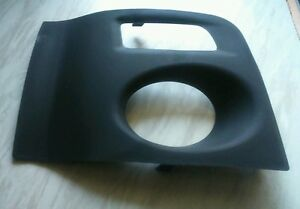 (NEW) MG ZR MK2 FACELIFT D/S FRONT BUMPER FOGLIGHT COVER/SURROUND, 2004 ONWARDS