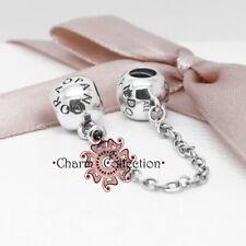 Pandora, S925 Logo Safety Chain Charm, NEW, 791877