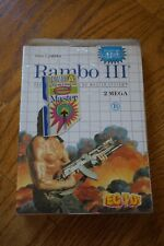 Rambo III 3 (Sega Master System SMS) NEW Factory Sealed TEC TOY