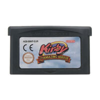 Kirby & the Amazing Mirror GBA Game Boy Advance Cartridge English