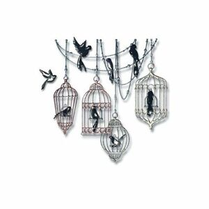 Sizzix Thinlits Dies ~ BIRDCAGES ~ 665036,  18 dies