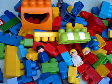 MEGA BLOKS FIRST BUILDERS  1.5 KG OF RANDOM ASSORTED BLOCKS BRICKS PEOPLE