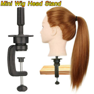 Hair Salon Cosmetology Mannequin Head Wig Holder Stand Table Clamp Clip Tools.