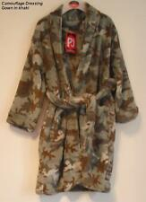 Boy's Fleecey Camouflage Design Dressing Gown - NEW - Age 3/4 Years