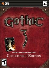 Gothic 3 Collector's Edition PC Games Windows 10 8 7 XP Computer metal box C.E.