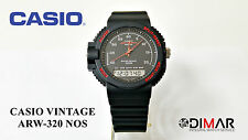 CASIO VINTAGE ARW-320 ( barometer, altimeter and bathometer) MODULO 376 JAPAN