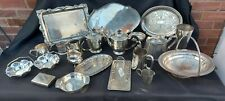 An Antique/vintage Silver Plated Job Lot with many Makers Names.1800.s_1900.s