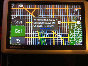 """Garmin Nuvi 1450 5"""" Touchscreen GPS Unit Only, Works Great!"""