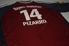 Adidas Bayern München Trikot Jersey Maglia Camiseta 01/02 Pizarro Autogramm 176