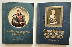2x Collector's Album by The to Be German Filmkunst Der Stumme Film / Sound 1935
