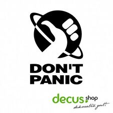 Don't Panic - Per Anhalter durch die Galaxis Hitchhiker's Guide // Sticker JDM A