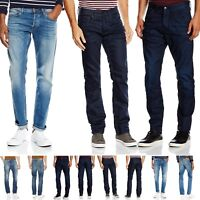 Mens Brand New Jack & Jones Jeans Clark Regular Fit in 3 Colours